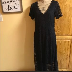 Torrid ❤️ Black lace maxi dress size 10